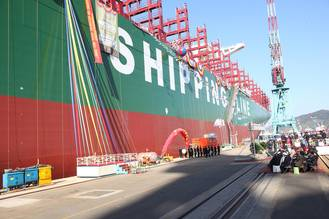 World's Largest Boxship is DNV GL classed