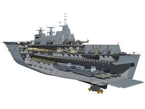 GE Gas Turbine Powers Australia's Largest Warship