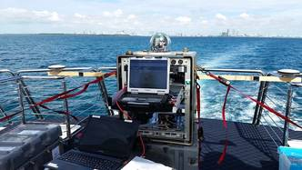 NRL Researchers Demo Ship-to-Shore Data Link