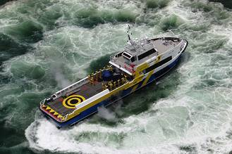 Waterjet-propelled Crewboat Delivered to Petrobras