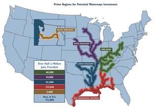 The Economic Impact of Inland Waterway Investment