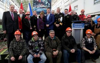 Irving Celebrates Canadian AOPS Build Contract