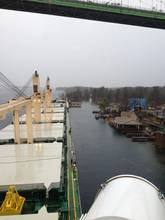 Bulk Carrier Grounds in St. Lawrence Seaway