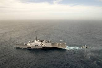 USS Freedom (LCS 1) Completes Rough Water Trials