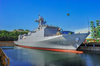 HHI Launches Korea's Second Minelayer