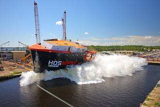 Eastern Launches Second MPSV for Hornbeck