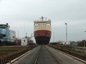 Fire-stricken Icebreaker Overhauled