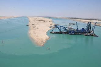 Egypt Says Finishes Work on New Suez Canal