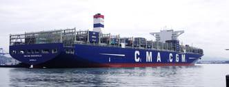 CMA CGM Launches 18,000 TEU Containership