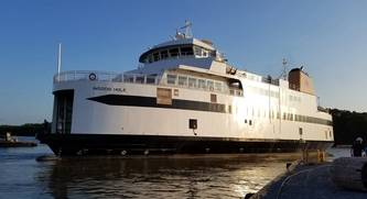 New Ferry MV Woods Hole Delivered
