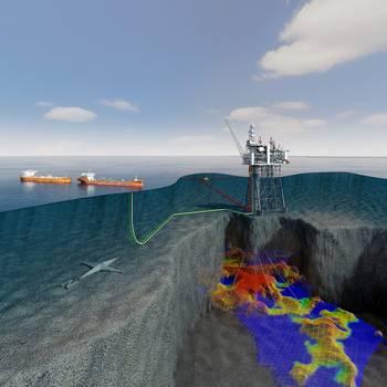 File Mariner with reservoir. Credit Statoil ASA