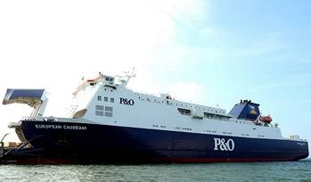 File P&O Ferries European Causeway returns to service following £100,000 investment