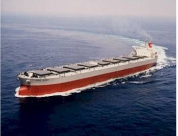 File Capesize Bulk Carrier: Photo courtesy of K-Line