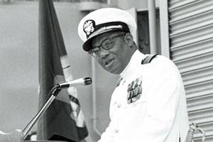 File San Diego, Calif. (June 2, 1971) - Official U.S. Navy file photo of Capt. Samuel L. Gravely Jr.