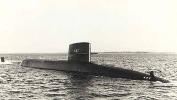 File USS Francis Scott Key (SSBN-657). U.S. Navy Photo