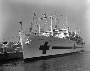 File U.S. Navy hospital ship Repose (U.S. Navy photo)