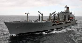 File USNS Rappahannock: Photo credit USN