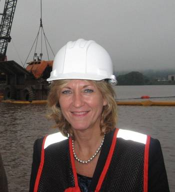 File Betty Sutton, Administrator of the Saint Lawrence Seaway Development Corporation.