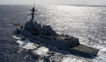 File U.S. Navy file photo of the Arleigh Burke-class guided-missile destroyer USS Kidd (DDG 100).