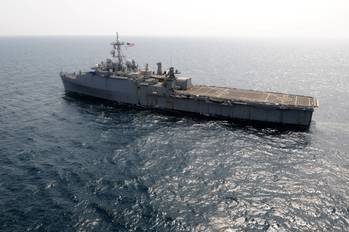 File USS Ponce: Photo credit USN