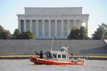 File Inauguration Patrol: Photo credit USCG