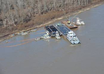 File Vicksburg Oil Spill Incident: Photo credit USCG