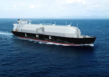 "File  ""Sayaendo"" a new-generation LNG carrier"