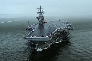 File USS Dwight D. Eisenhower (CVN69). (U.S. Navy photo by Mass Communication Specialist 2nd Class Ryan D. McLearnon)
