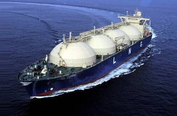 File A moss type LNG carrier delivered  by Hyundai Heavy in 2000