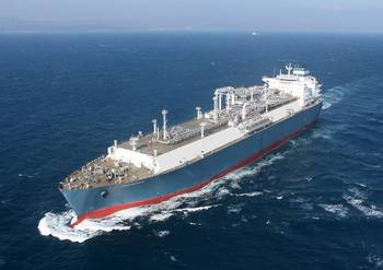 File The world's first newbuilding LNG floating storage regasification unit