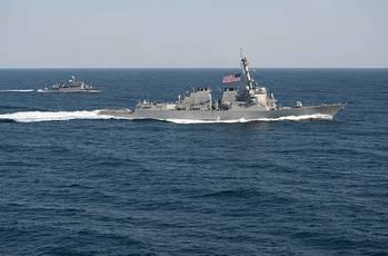 File U.S. Navy file photo of USS Lassen (DDG 82), Mar. 2015.