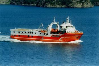 File Seismic Survey Ship Viking ll: Photo courtesy Eidesvik