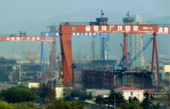 File China – Shipyard: Photo courtesy of Jinling shipyard