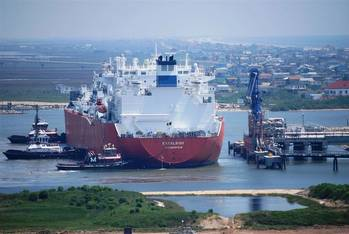 File Freeport LNG terminal: Photo courtesy of the operators