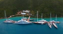 File Yacht Marine in BVI: Photo courtesy Yacht Club Smeralda BVI