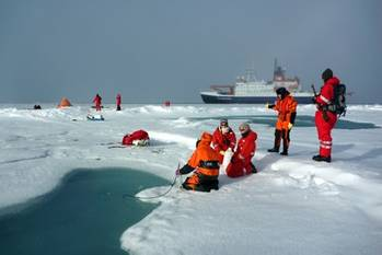 File Polarstern Backdrops Scientific Expedition: Photo credit Alfred Wegener Institute