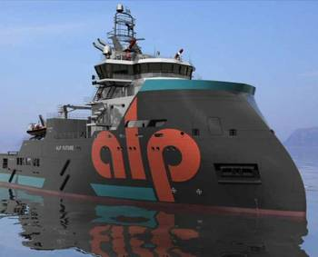 File AHTS in ALP Colours: Photo courtesy of Teekay Offshore