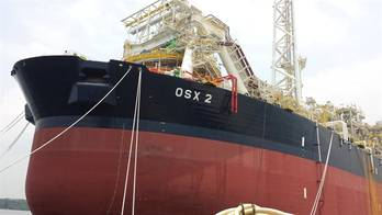 File FPSO vessel OSX 2, working in conjunction with Tecnomar & Associates