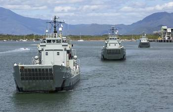 File Photo: Tom Gibson, Australian Navy
