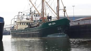 File NOR 204 on the outfitting quay of Shipyard Kooiman (Photo: Kooiman)