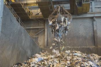 File Newport News Shipbuilding provides 70 percent of all the trash converted to energy at the Hampton/NASA steam plant. Photo courtesy of NASA Langley Research Center