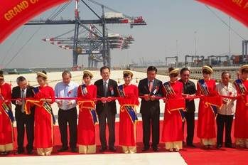 File Vietnam Port Inauguration: Photo credit Vietnam Government