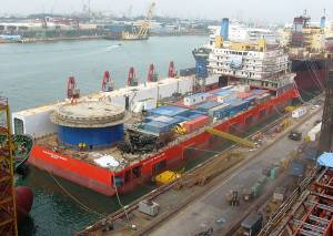 File Photo courtesy Keppel Offshore & Marine Ltd