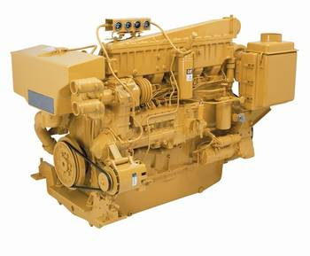File 3406C Marine Diesel Engine: Image courtesy of Caterpillar Marine