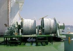 File Mooring Winch MHI: Photo credit MHI