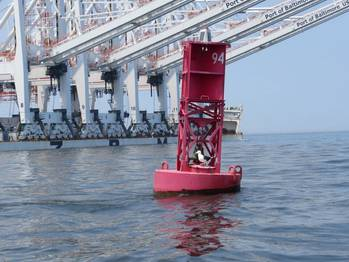 File Photo credit: Darren Wright (buoy in port of Baltimore.)