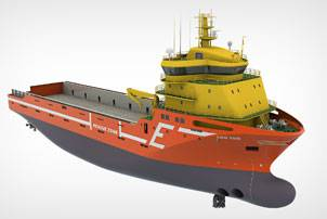 File The new Platform Supply Vessels (PSVs) for Eidesvik Offshore will include an integrated Wärtsilä gas power solution featuring the recently launched Wärtsilä 20DF engine. Photo courtesy Wärtsilä Corporation