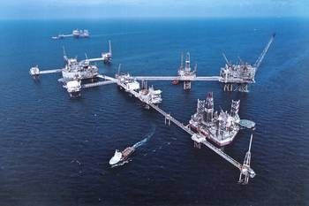 File A ConocoPhillips superstructure in the Ekofisk field (Photo: Bolidt).