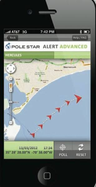 File Pole Star Alert Mobile App: Image credit Pole Star