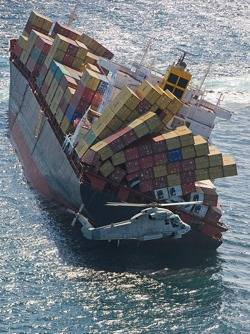 File Rena: Photo credit CCL NZ Defence Force